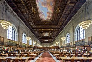 New York Public Library, Rose Reading Room, Carrere and Hastings Architects