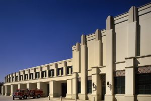 LA Fire Department, Charles Moore Architects