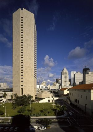 Miami Dade Government Center, Hugh Stubbins Architects