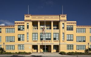Miami Edison Middle School, H. H. Mundy Architect