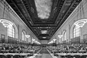 New York Public Library Interior; New York