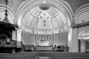 Central Congregational Church, Interior; Rhode Island