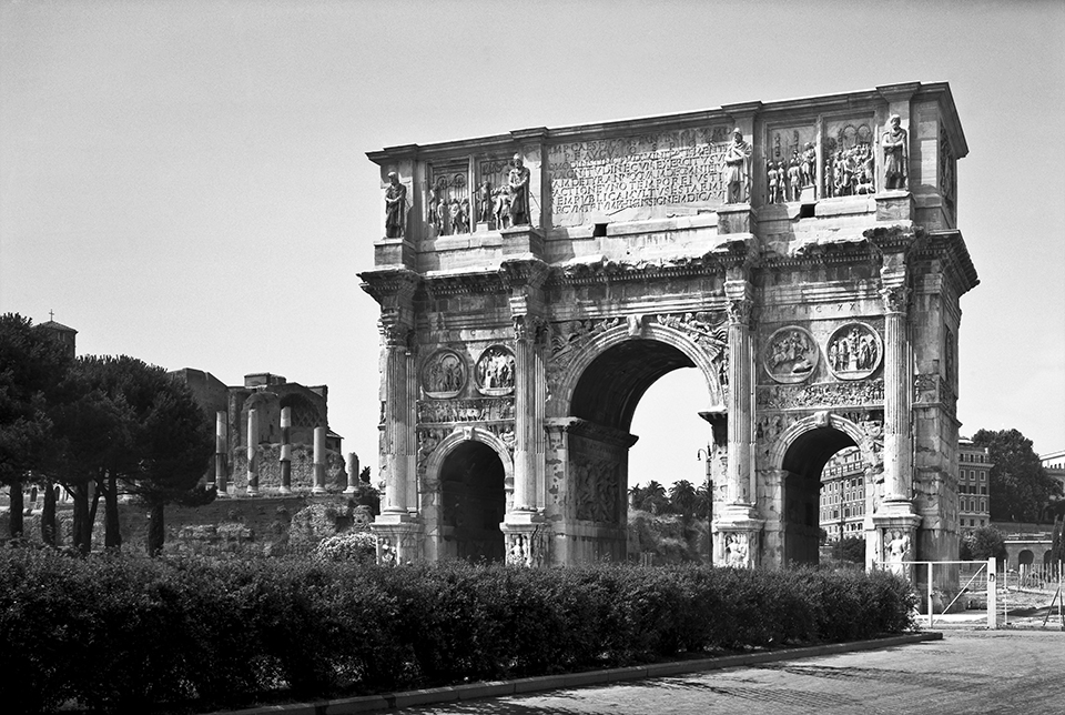 the arch of constantine essay