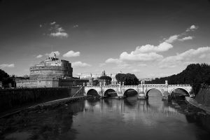 Castel S. Angelo and the Tiber