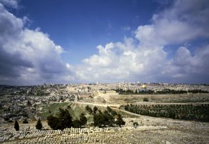 Jerusalem from Mt of Olives