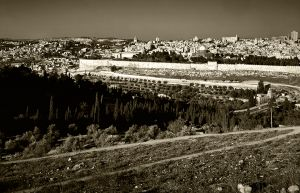 Jerusalem and the Road to Bethany